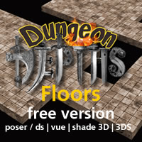 Dungeon Floors FREE EDITION