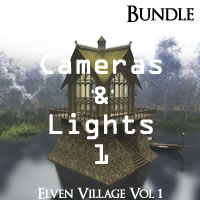 Elven Village Volume 1 R2 Cameras and Lights Pack 1