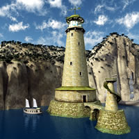 Elven Village Lighthouse