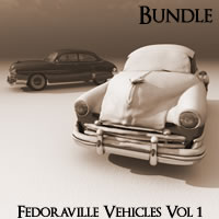 Fedoraville Vehicles Volume 1 R2