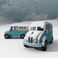DivCo Milk Truck