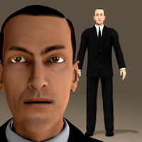 H P Lovecraft 3D for Poser