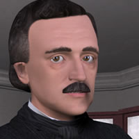 Edgar Allan Poe 3D for Poser