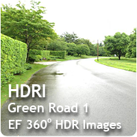 HDRI Green Road 01