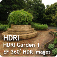 HDRI Garden 01