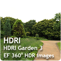 HDRI Garden 03