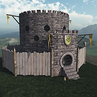Halfling Village Guardhouse