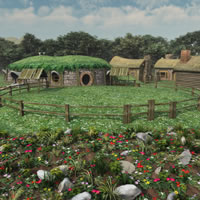 Halfling Village Stables