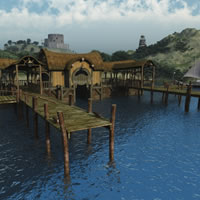 Halfling Village Dock
