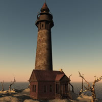 Haunted Village Lighthouse R2