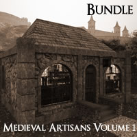 Medieval Village Artisans Volume 1