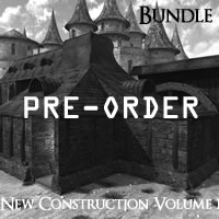 Medieval Village New Construction Volume 1