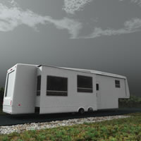 Retired Doctor's Fifth Wheel Trailer