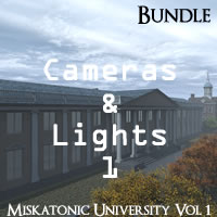 Miskatonic University Volume 1 R2 Cameras and Lights Pack 1