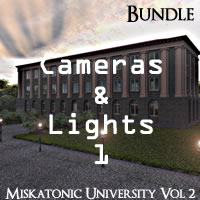 Miskatonic University Volume 2 R2 Cameras and Lights Pack 1
