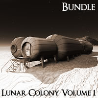 Near Future: Lunar Colony Volume 1
