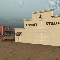 Old West Livery Stable and Corral