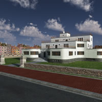 Art Deco Manor