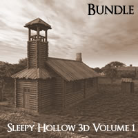Sleepy Hollow 3D Volume 1