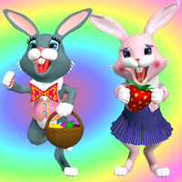 Toon Bunny for Poser and DAZ Studio
