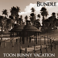 Toon Bunny Vacation