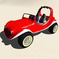 Toon Dune Buggy