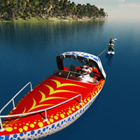 Toon Speedboat
