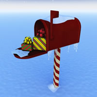 Christmas Mailbox R2