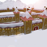 Toon Santa&#039;s Christmas Castle Kit