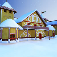 Toon Santa's Cottage R2