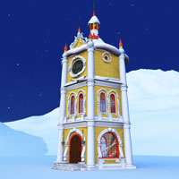 Toon Santa&#039;s Clocktower