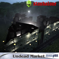 Undead Village Market (UDV1V107-3DS)
