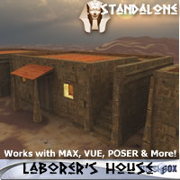 Laborer&#039;s House, Ancient Egypt