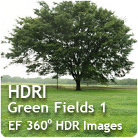 HDRI Green Fields 01