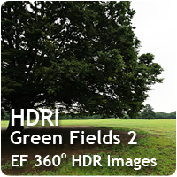 HDRI Green Fields 02