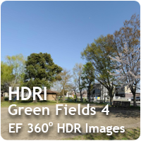 HDRI Green Fields 04