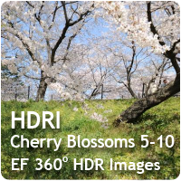 HDRI Cherry Blossoms 05-10 Pack