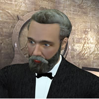 Jules Verne 3D for Poser