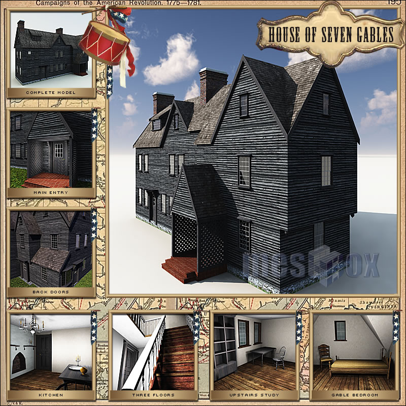 House of Seven Gables 3D