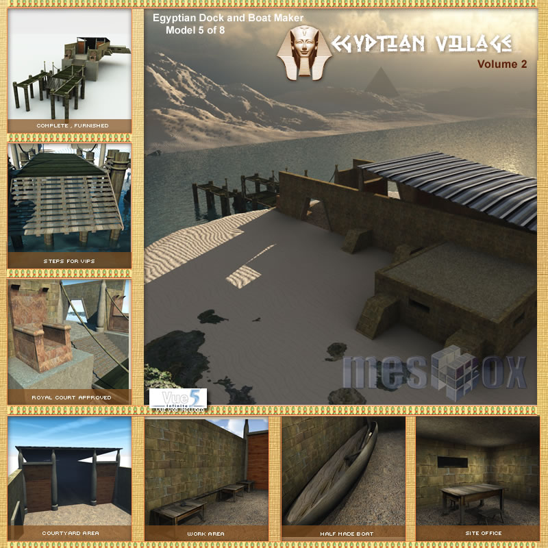 Egyptian River Dock and Boat Maker