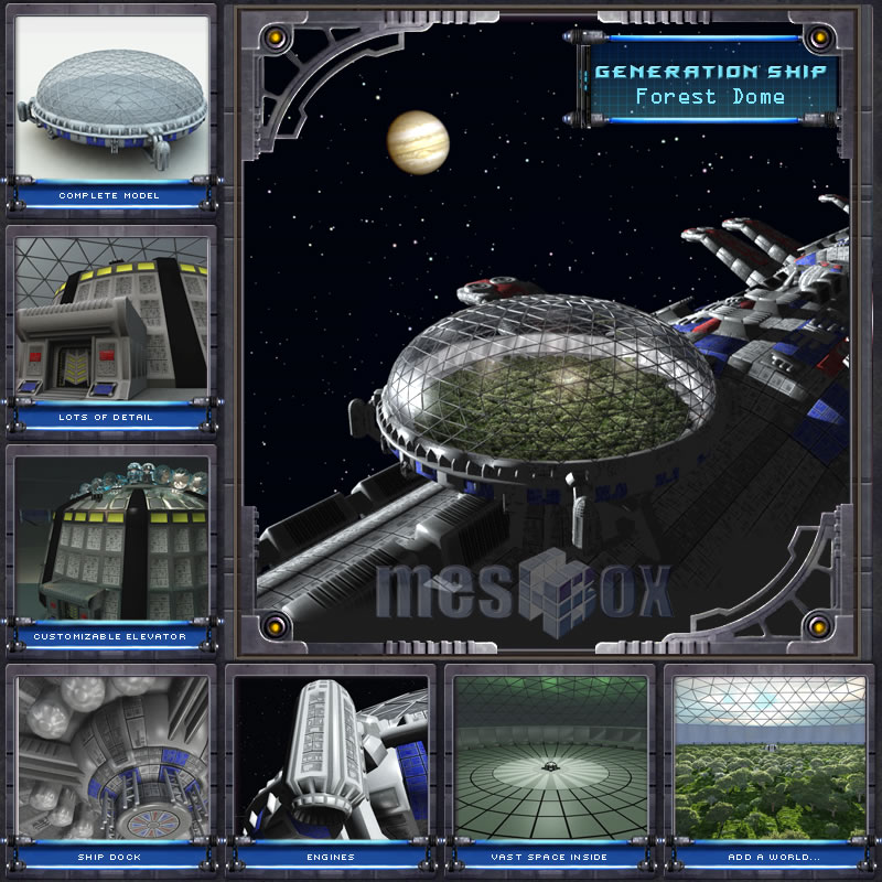Generation Ship - Forest Dome
