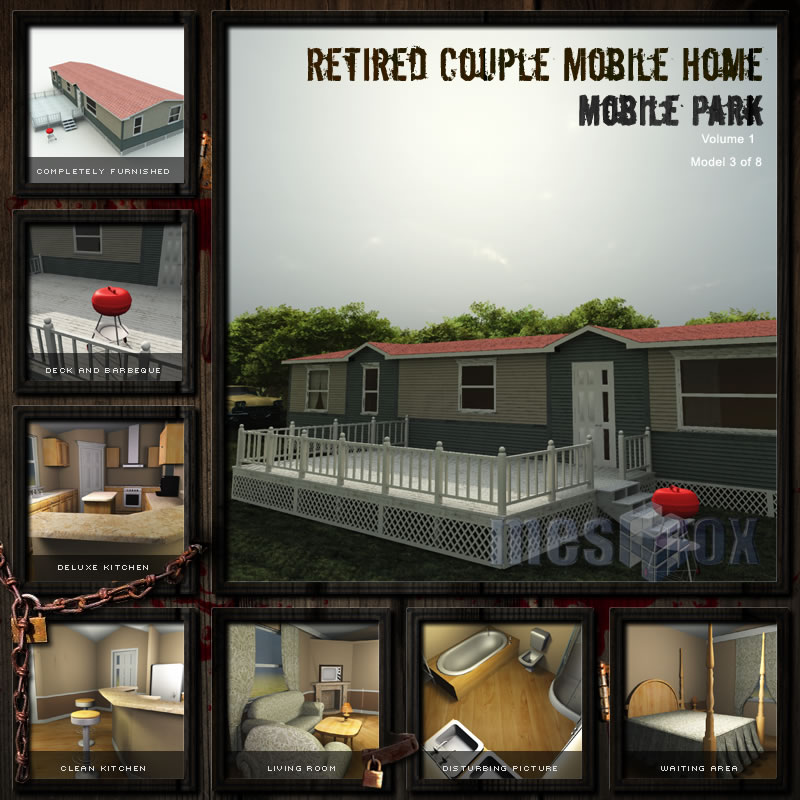 Retired Couple Mobile Home
