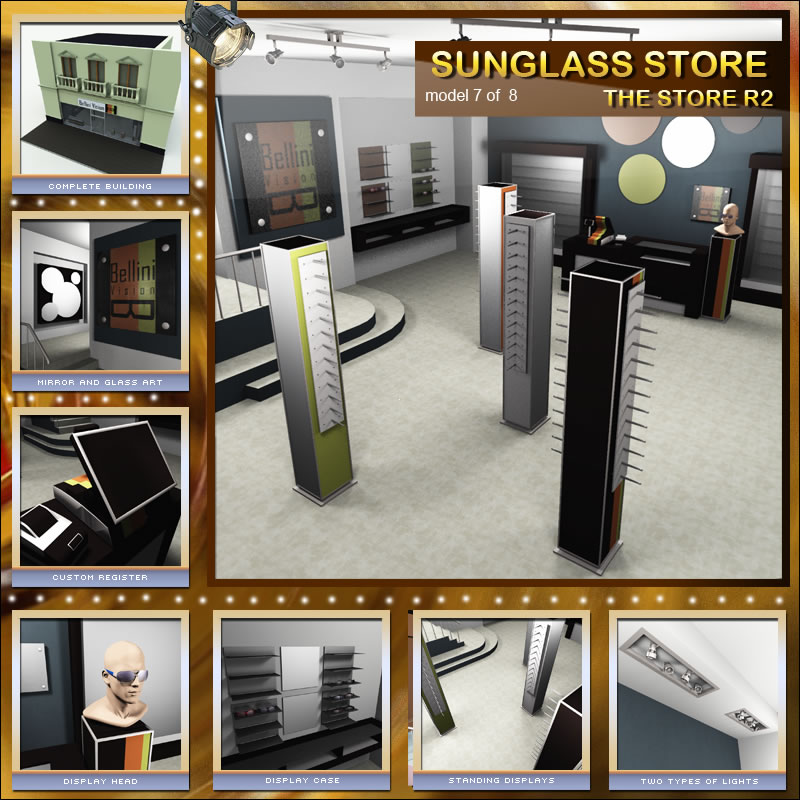 Sunglasses Shop for The Store R2