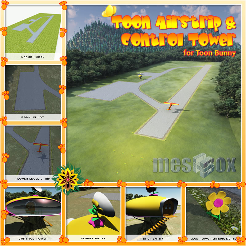 Toon Airstrip and Control Tower