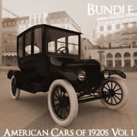 American Cars of the 1920s Volume 1