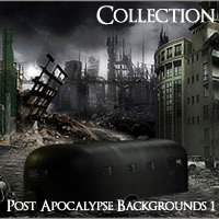 Post Apocalypse Backgrounds Volume 1