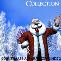 Christmas Land Backgrounds Volume 2 HD