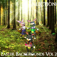 Easter Backgrounds Volume 2