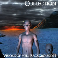 Visions of Hell Backgrounds Volume 1