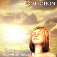 Visions of Heaven Backgrounds Volume 1